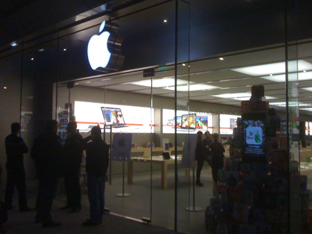 Applestore Montpellier…