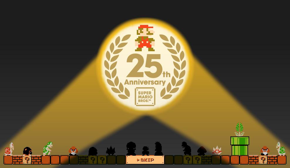 Mario a 25 ans… Et moi un peu plus…
