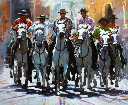 Marc Guyot… Artiste peintre de Camargue…