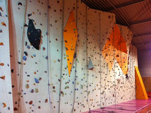 Nouveau mur de Calvisson