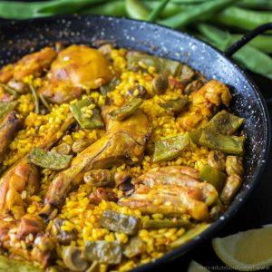 recettes paella valenciana
