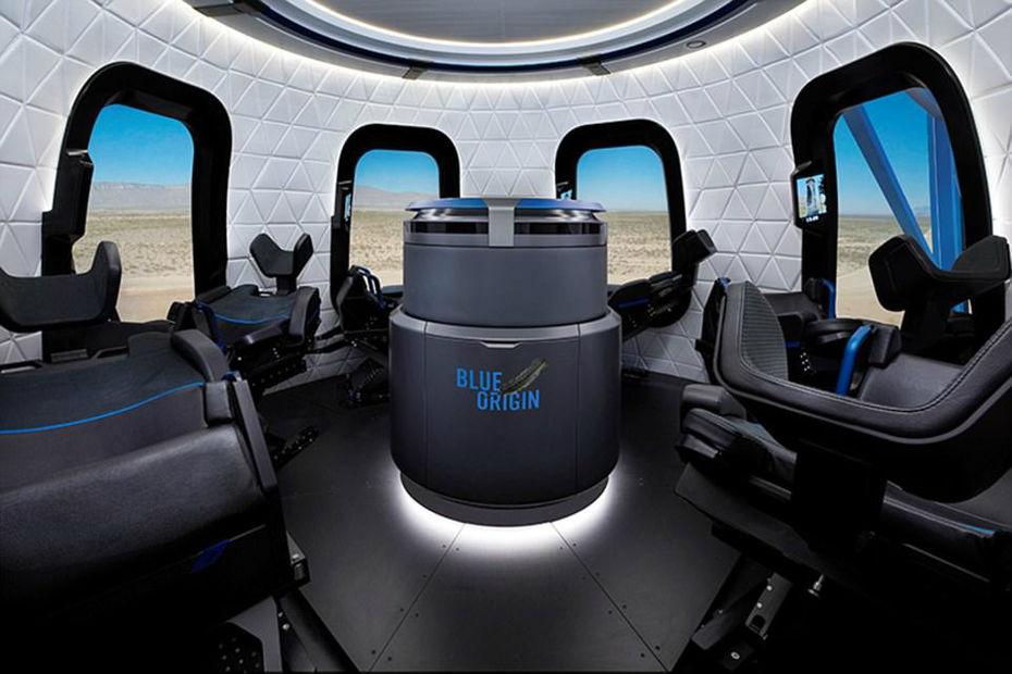 [En images] Blue Origin dévoile des photos de sa capsule New Shepard
