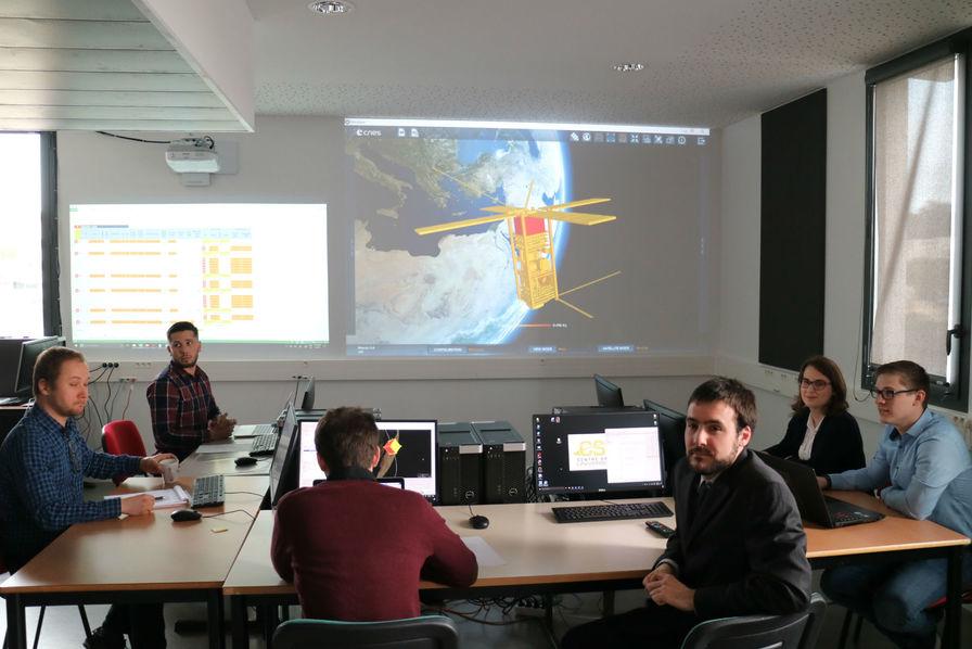 Des étudiants d'université lancent un nanosatellite… c'est à Montpellier…