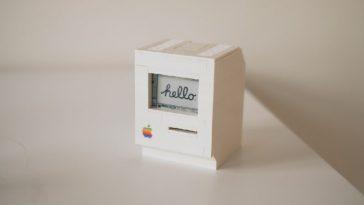 Un mini-macintosh classique fonctionnel, et avec des Lego : alerte à la nostalgie