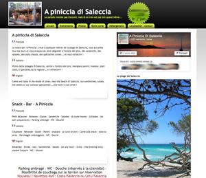 Plage de Saleccia, où manger ? A la piniccia di Saleccia…