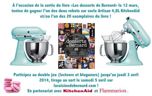 La cuisine de Bernard et le robot