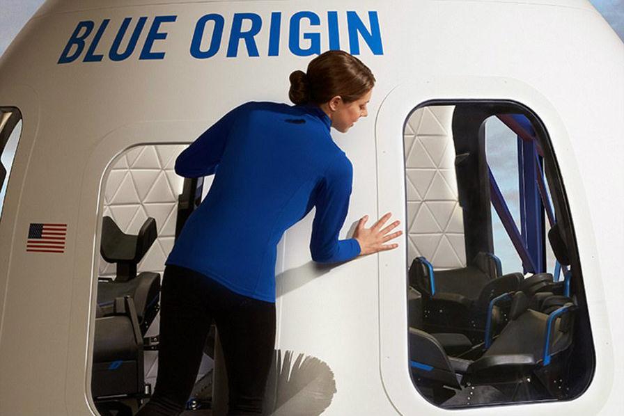 Blue Origin dévoile des photos de sa capsule New Shepard